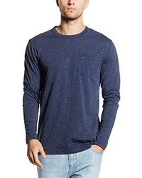 T-shirt à manche longue bleu marine G-Star RAW