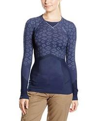 T-shirt à manche longue bleu marine ODLO