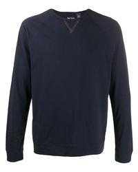 T-shirt à manche longue bleu marine Paul Smith