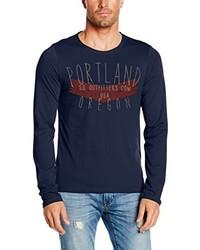 T-shirt à manche longue bleu marine s.Oliver