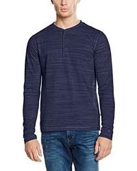 T-shirt à manche longue bleu marine Tommy Hilfiger