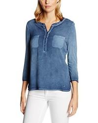 T-shirt à manche longue bleu Brax