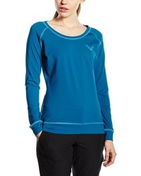T-shirt à manche longue bleu Dynafit