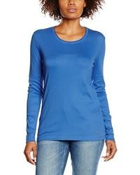 T-shirt à manche longue bleu Olsen