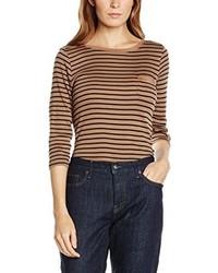 T-shirt à manche longue brun clair Olsen
