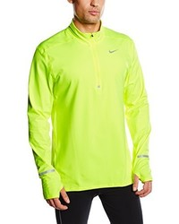 T-shirt à manche longue chartreuse Nike