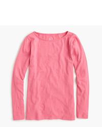 T-shirt à manche longue fuchsia