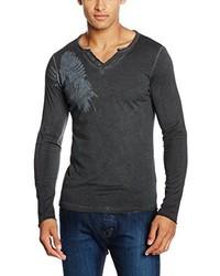 T-shirt à manche longue gris foncé Q/S designed by