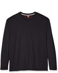 T-shirt à manche longue gris foncé S.Oliver Big Size