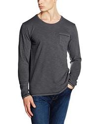 T-shirt à manche longue gris foncé s.Oliver