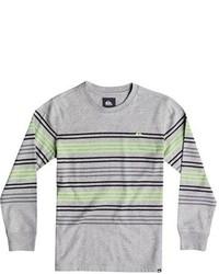 T-shirt à manche longue gris