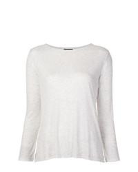 T-shirt à manche longue gris A.P.C.