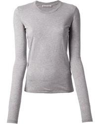 T-shirt à manche longue gris Acne Studios