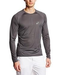 T-shirt à manche longue gris Asics