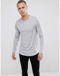 T-shirt à manche longue gris ASOS DESIGN