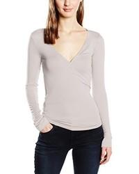 T-shirt à manche longue gris Blaumax