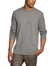 T-shirt à manche longue gris Eddie Bauer