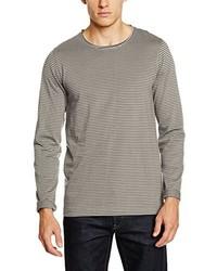 T-shirt à manche longue gris Lindbergh
