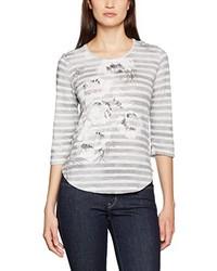 T-shirt à manche longue gris Olsen