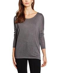 T-shirt à manche longue gris Opus