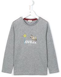 T-shirt à manche longue gris Paul Smith