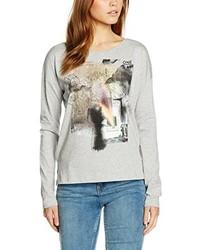 T-shirt à manche longue gris Q/S designed by