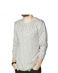 T-shirt à manche longue gris Suit