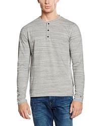 T-shirt à manche longue gris Tommy Hilfiger