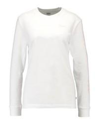 T-shirt à manche longue imprimé blanc Vans