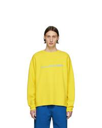 T-shirt à manche longue imprimé jaune Noon Goons