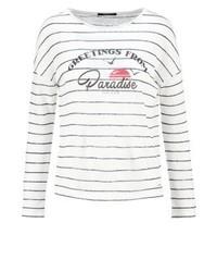 T-shirt à manche longue imprimé multicolore Pepe Jeans