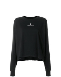 T-shirt à manche longue imprimé noir Marcelo Burlon County of Milan