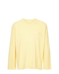T-shirt à manche longue jaune