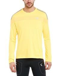 T-shirt à manche longue jaune adidas