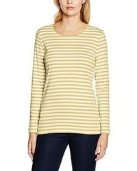 T-shirt à manche longue jaune Maerz