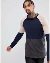 T-shirt à manche longue multicolore ASOS DESIGN