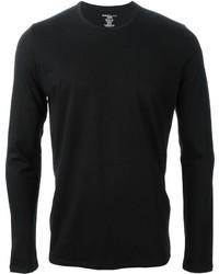 T-shirt à manche longue noir