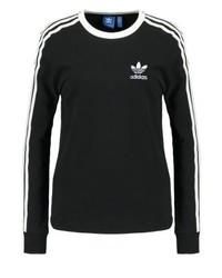 T-shirt à manche longue noir adidas