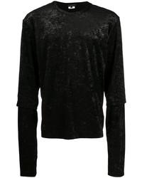 T-shirt à manche longue noir Comme Des Garcons Homme Plus