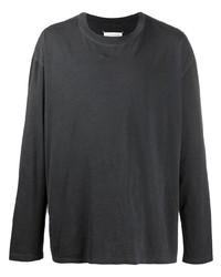 T-shirt à manche longue noir Maison Margiela