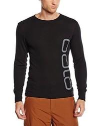 T-shirt à manche longue noir Odlo