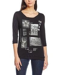 T-shirt à manche longue noir Q/S designed by