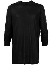 T-shirt à manche longue noir Rick Owens