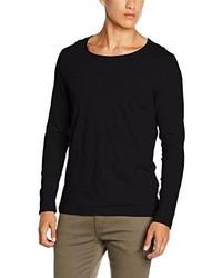 T-shirt à manche longue noir Strellson Premium