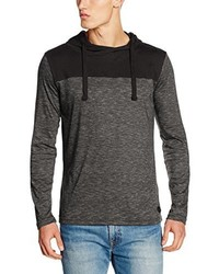 T-shirt à manche longue noir Sublevel