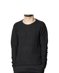 T-shirt à manche longue noir Suit