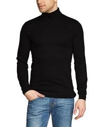 T-shirt à manche longue noir Trigema