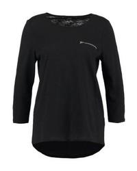 T-shirt à manche longue noir Vero Moda