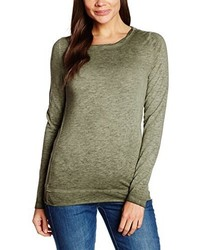 T-shirt à manche longue olive Q/S designed by