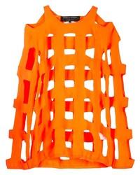 T-shirt à manche longue orange Comme Des Garcons Homme Plus